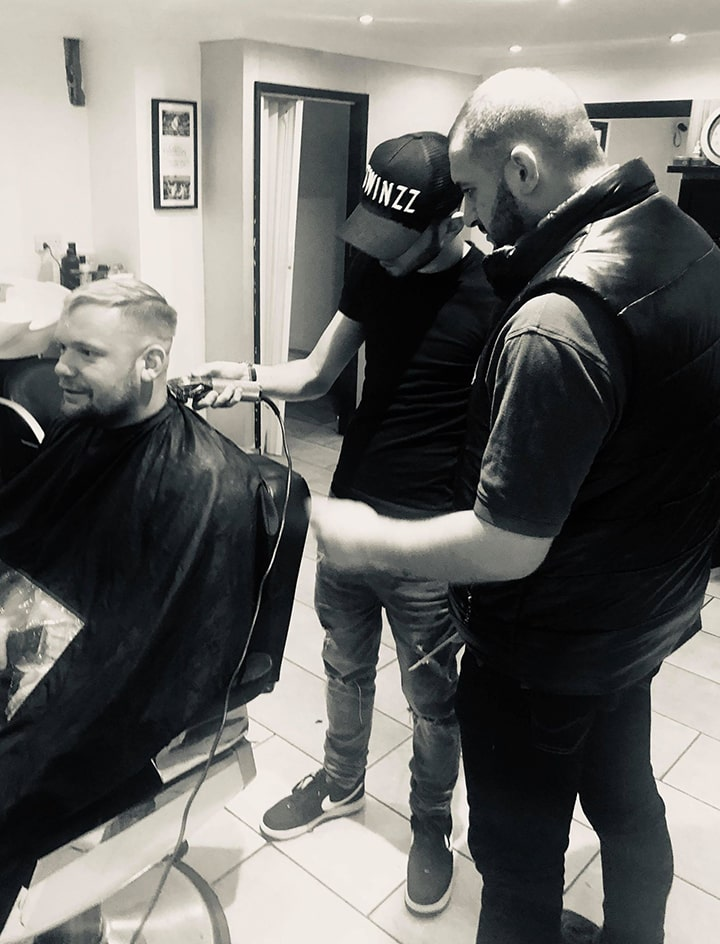 We are the UK's newest barber training academy, based in Essex. We teach our students how to cut men's hair to current professional standards and achieve the best quality cut and qualifications
